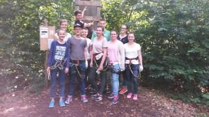 Ausflug Jugendkapelle Kletterwald